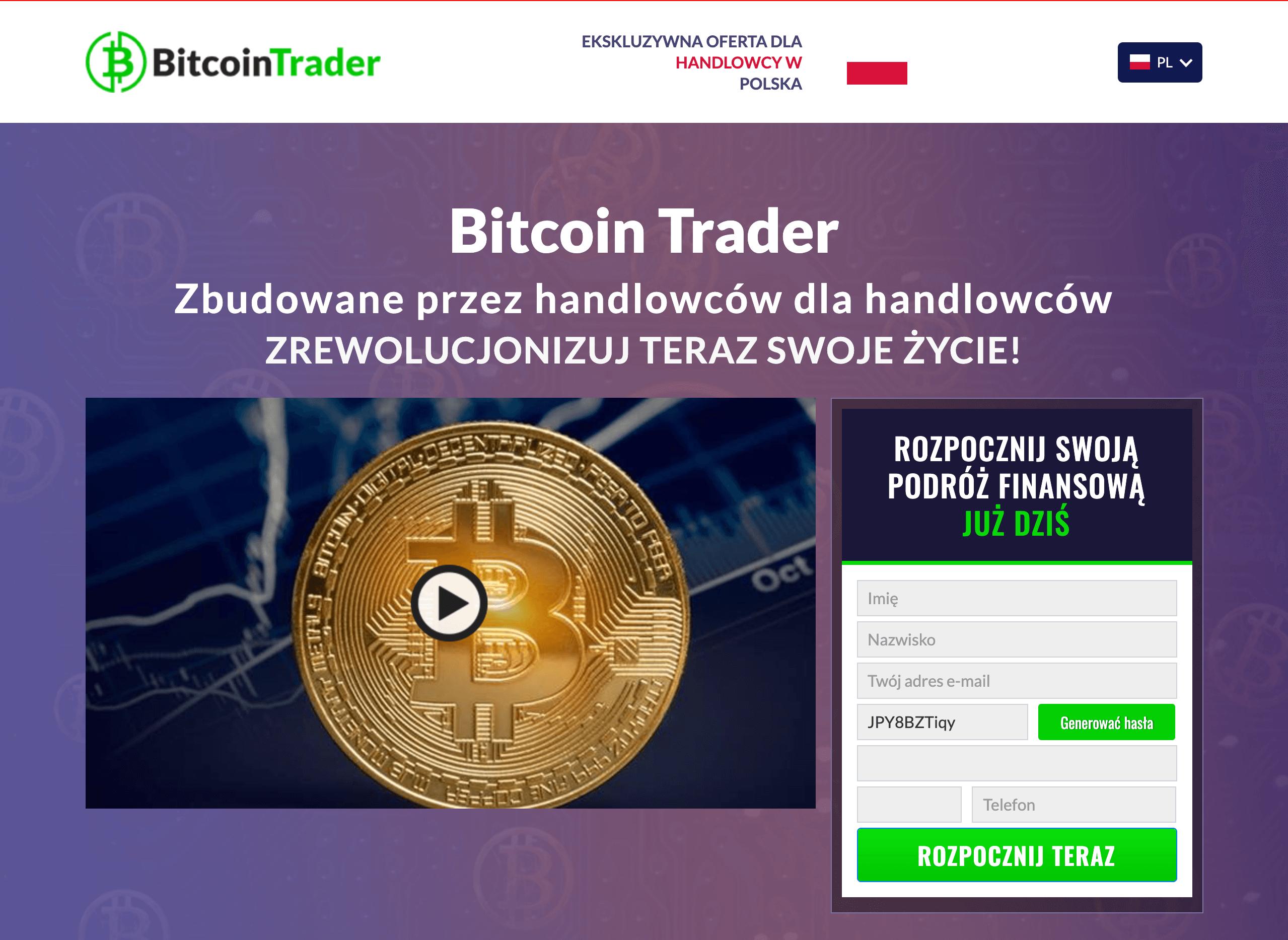 bitcoin trader oszustwo