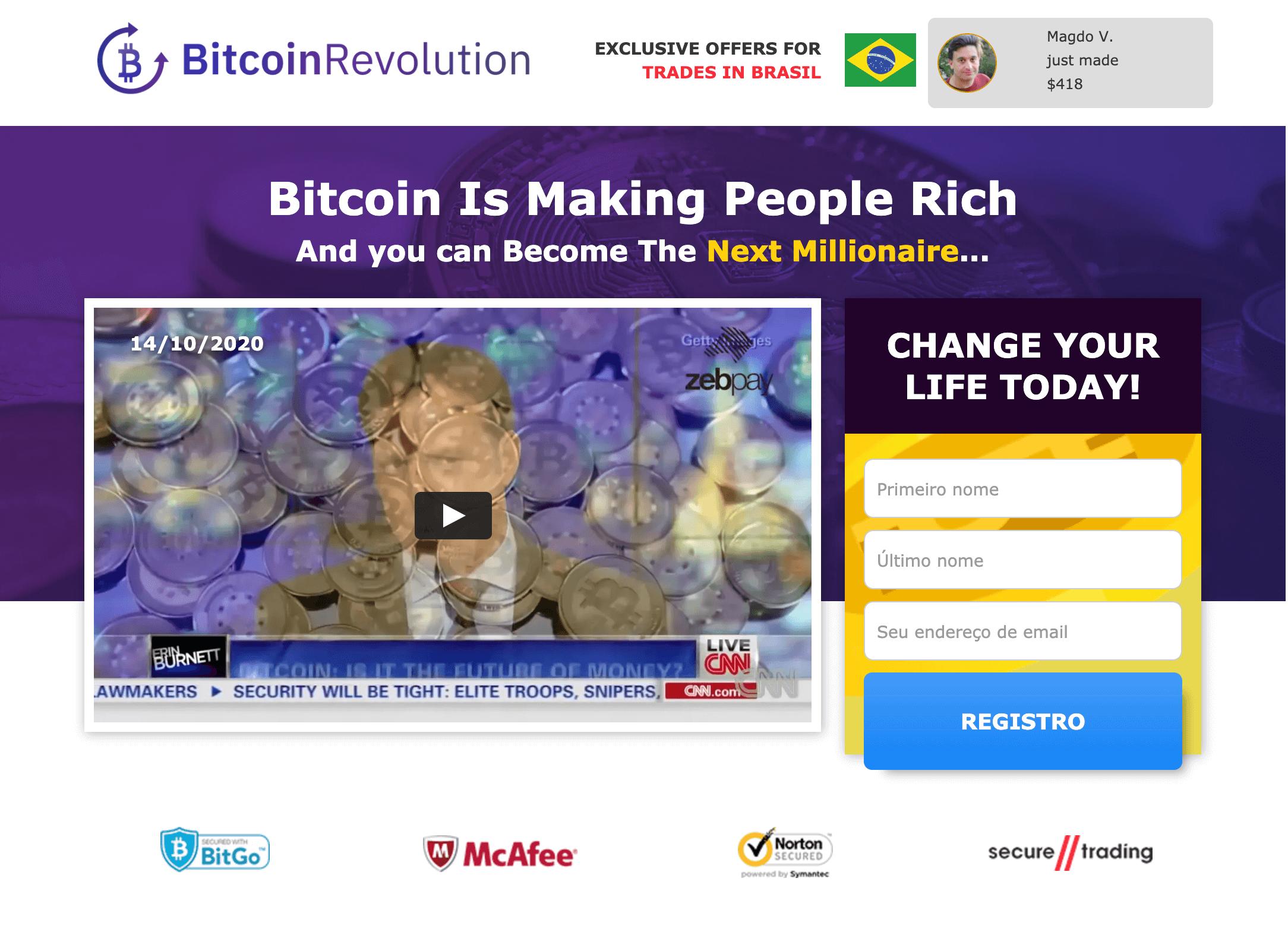 quanto você pode fazer dia de negociação bitcoin