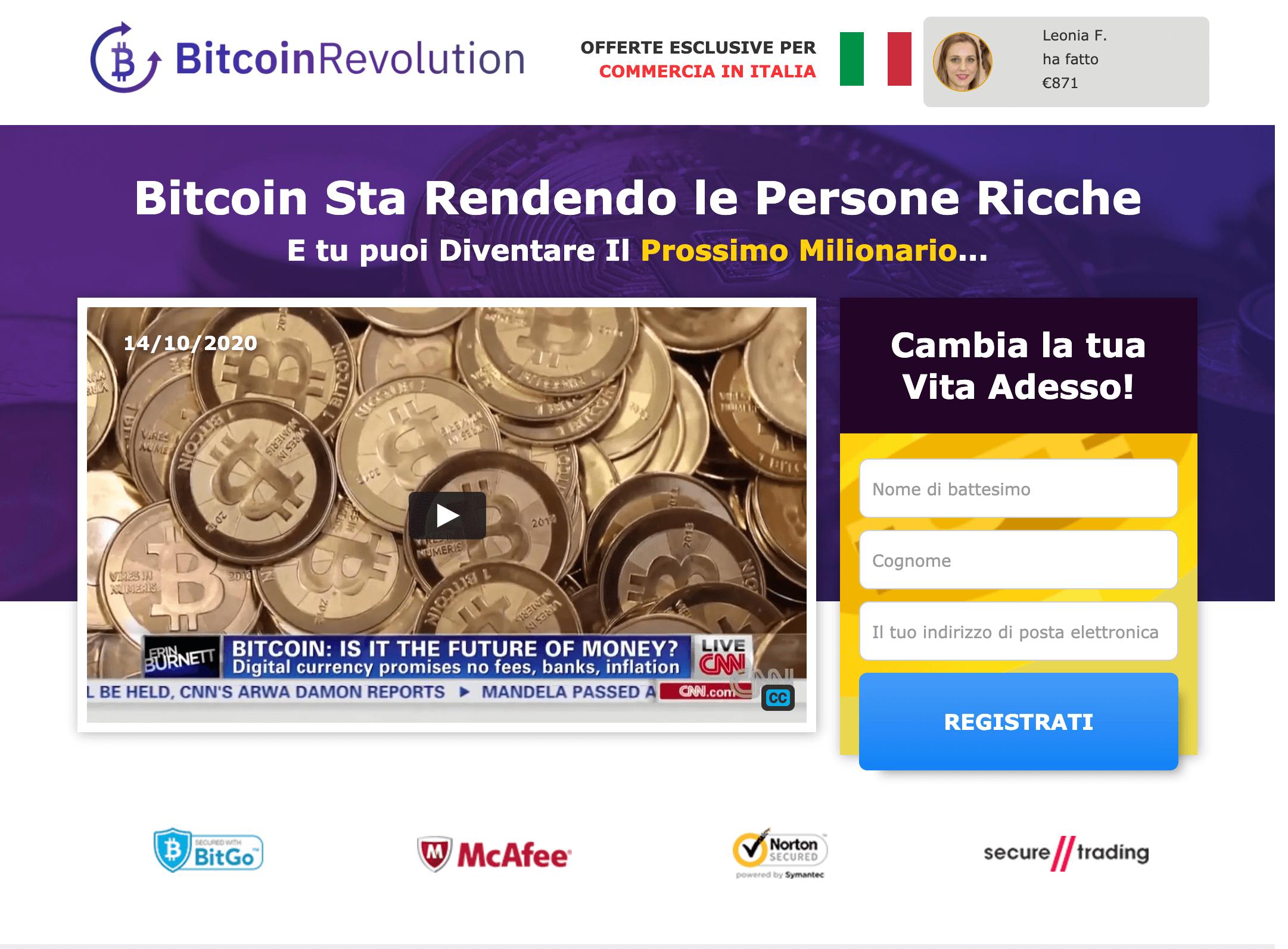 profitto bitcoin recensione)
